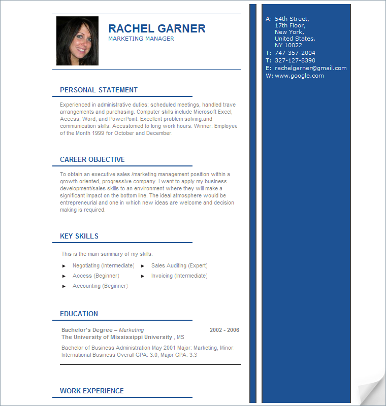 home create resume samples advice - Resume Sample Professional